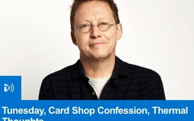 Simon Mayo and Sharon Little talk cards on R2's Drivetime