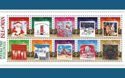 GCA 100th Anniversary Isle of Man Stamps