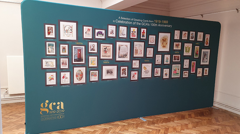 Part of the GCA 100 Year Exhibition
