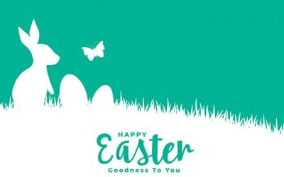 Why do we have bunnies on our Easter cards?